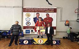 Самбисты из Кривого Рога заняли несколько призовых мест на турнире в Одессе