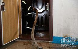 В одном из многоэтажных домов Кривого Рога горела квартира