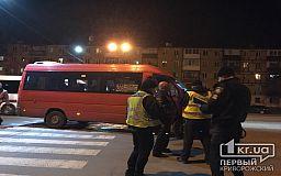 В Кривом Роге маршрутка сбила двоих пешеходов на переходе