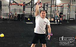 Криворожский пожарный завоевал бронзовую медаль на чемпионате по гиревому спорту