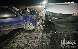 Пострадали ребенок и женщина: на Криворожской трассе случилось ДТП