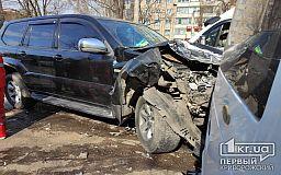 В Кривом Роге 4 авто попали в ДТП на светофоре