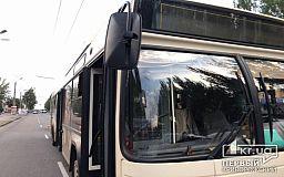Дополнительный автобус в Кривом Роге продолжает перевозить пассажиров на работу и обратно домой