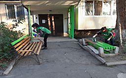 У Кривому Розі побільшає доглянутих двориків завдяки «Зеленому центру Метінвест»