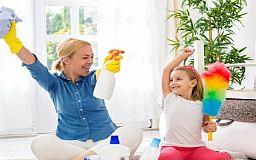 Как обычную уборку дома превратить в веселье