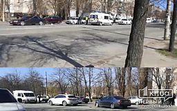 Автомобилист в Кривом Роге не заметил ДТП и наехал на мужчину (обновлено)