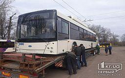 В Кривом Роге изменят схему движения 3 троллейбусного маршрута и запустят новые машины