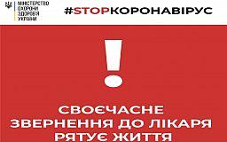 Самолечение - не выход: в Украине зарегистрирован пятый летальный случай в результате коронавируса