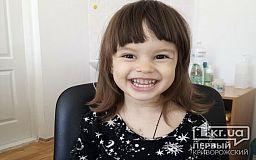 Жизнерадостной двухлетней криворожанке собирают 45 тысяч долларов на лечение в белорусской клинике (обновлено)