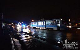 ДТП в Кривом Роге: авто врезалось в трамвай