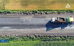 Начат ремонт одной из худших трасс в Украине между Кривым Рогом и Кропивницким