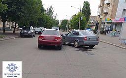 Из-за выпившего водителя в Кривом Роге случилось ДТП