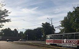 В Кривом Роге с рельсов сошло колесо трамвайного вагона