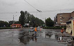 В Кривом Роге временно не ходят троллейбусы в центре города (Обновлено)