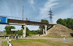 Сколько потрачено на ремонт моста при въезде в Кривой Рог