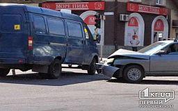 ДТП в Кривом Роге: столкнулись Lada и ГАЗель