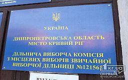 Стартовало повторное голосование за кандидатов на должность мэра Кривого Рога