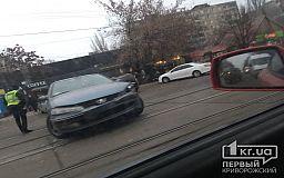 Из-за ДТП приостановлено движение трамваев в Кривом Роге