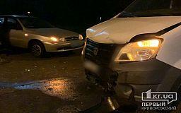 В Кривом Роге в ДТП пострадали два человека