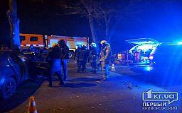 В результате ночного ДТП погиб мужчина и пострадали двое криворожан