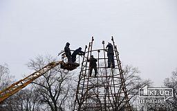 В Кривом Роге все же установят главную елку