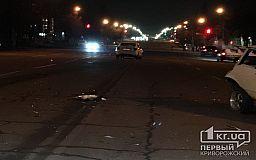 В Кривом Роге столкнулись два авто, есть пострадавшие