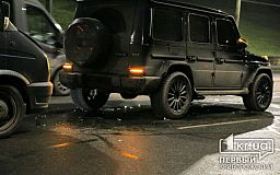 В центре Кривого Рога в ДТП попали ГАЗ и Mercedes