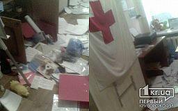 Неизвестные обокрали помещение офиса криворожского Красного Креста