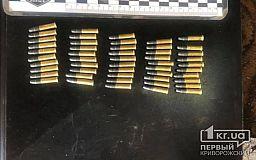 Криворожские полицейские изъяли у мужчины патроны и учебную гранату