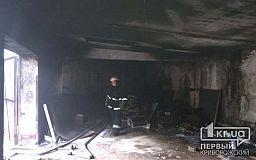 В Желтых Водах в гараже горели два авто