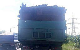 Водителя грузовика с металлоломом без документов задержали криворожские копы