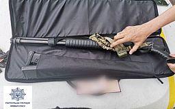Полицейские задержали криворожанина, который перевозил в самосвале металлолом и ружье