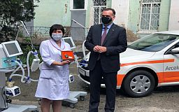 Совместная инициатива «АрселорМиттал Кривой Рог» и «Фольксваген Центр Кривой Рог» в борьбе с COVID-19