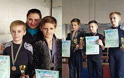 Криворожские фигуристы завоевали медали на Всеукраинских соревнованиях