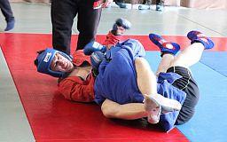 Криворожские нацгвардейцы стали победителями чемпионата по боевому самбо