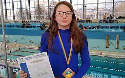 Криворожанка стала бронзовой призеркой чемпионата Украины по плаванию