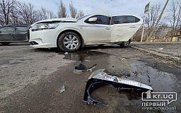 ДТП в Кривом Роге: пострадали двое взрослых и ребенок