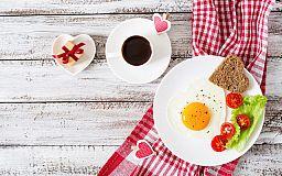 Оригинальный завтрак на День Святого Валентина