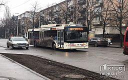 График 20 троллейбуса в Кривом Роге в выходные дни