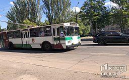 Троллейбус №1 в Кривом Роге будет ездить по новому графику в выходные дни