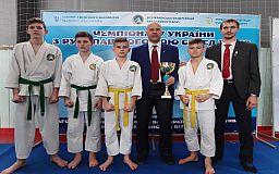 Криворожские школьники завоевали медали на турнире Украины по рукопашному бою