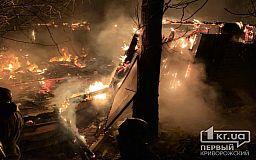 Масштабный пожар: в Кривом Роге пылало заброшенное здание