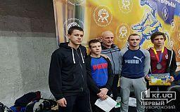 Серебро и бронзу завоевали двое криворожан на Всеукраинском турнире по греко-римской борьбе