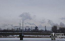 В январе концентрация пыли в воздухе в Кривом Роге превысила допустимую норму
