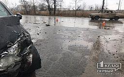 В ДТП в Кривом Роге пострадала пассажирка авто