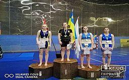 Криворожская сумоистка завоевала два серебра на чемпионате Украины