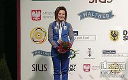 Криворожанка завоевала еще две медали на чемпионате Европы по стрельбе из пневматического оружия