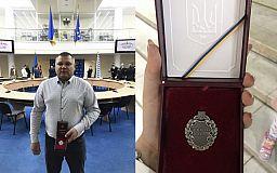 Криворожанину присвоили звание «Заслуженного шахтера Украины»
