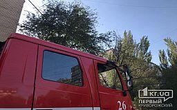 Пожарные помогли криворожанке, 2-летний ребенок которой оказался взаперти
