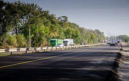 На двух участках трассы Днепр-Кривой Рог-Николаев проводятся ремонтные работы